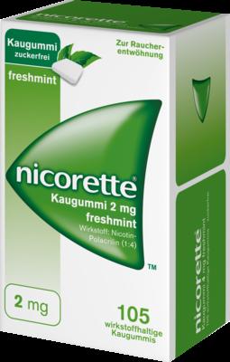 Nicorette 2 Mg Freshmint (PZN 03643425)