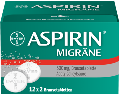 Aspirin Migraene Brausetabl. (PZN 00958298)