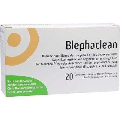 Blephaclean Kompressen Sterile (PZN 03658390)
