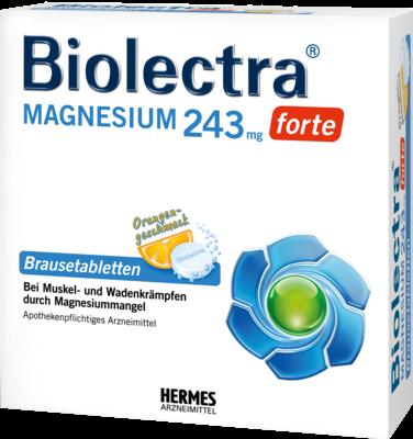Biolectra Magnesium 243 Forte Orange Brause (PZN 06789307)