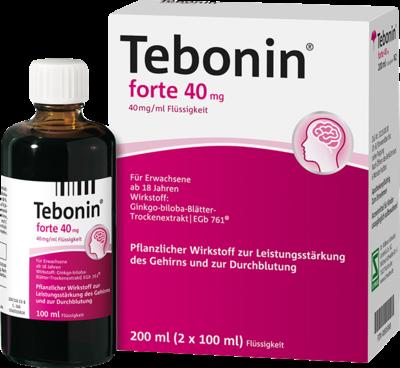 Tebonin Forte 40 Mg Loesung (PZN 06995998)