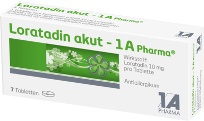 Loratadin Akut 1a Pharma (PZN 01879098)