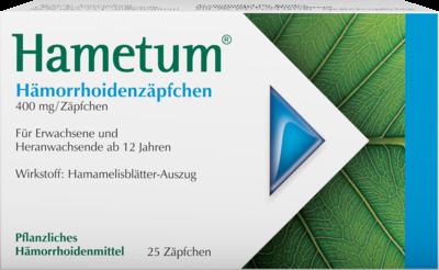 Hametum Haemorrhoiden Zaepfchen (PZN 07619576)