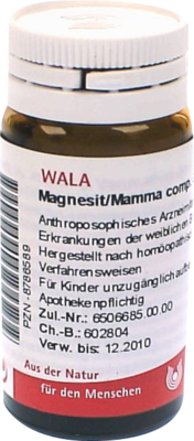 Magnesit/ Mamma Comp. (PZN 08786589)