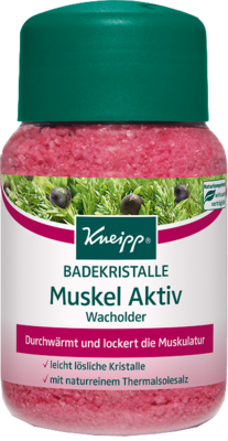 Kneipp Badekristalle Muskel Aktiv Wacholder, 500 g (PZN 00694764)