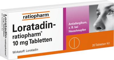 Loratadin Ratiopharm 10 Mg Tabletten (PZN 00142740)