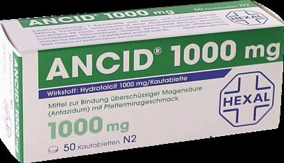 ANCID 1000MG, 50 St (PZN 00838281)