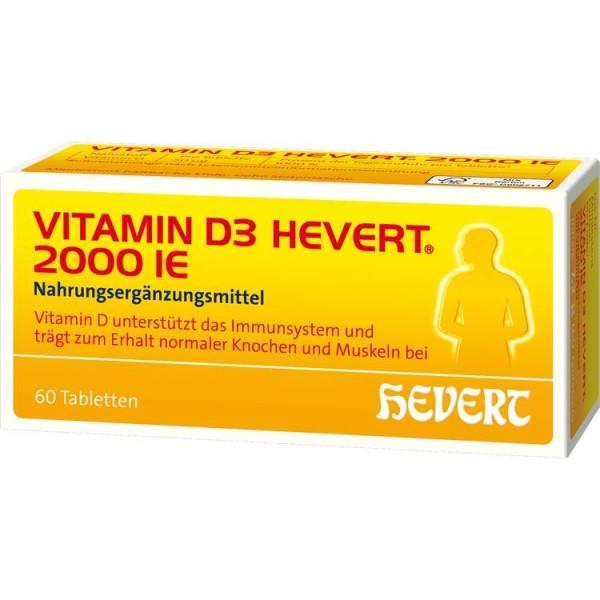 Vitamin D3 Hevert 2000ie (PZN 11116697)