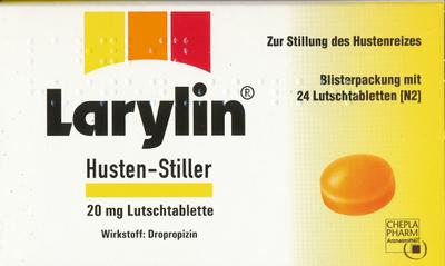 Larylin Husten Stiller Pastillen (PZN 04960257)