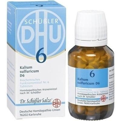 Biochemie Dhu 6 Kalium sulfuricum D 6 (PZN 02580651)
