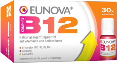 Eunova B12 Komplex Trinkfläschchen (PZN 11537996)