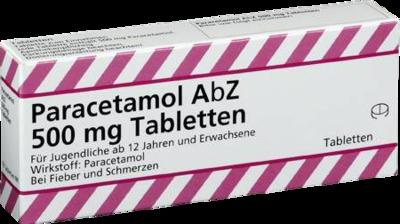 Paracetamol Abz 500 Mg Tabl. (PZN 01234510)