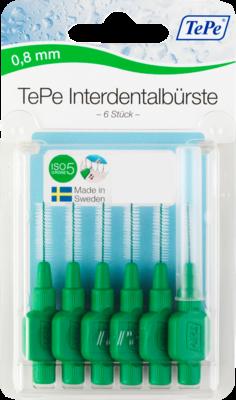 Tepe Interdentalbuerste 0,8mm Gruen (PZN 07641386)