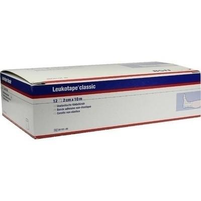 Leukotape Classic 10mx2cm Weiss (PZN 00499755)