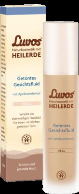 Luvos Naturkosmetik Getoentes Gesichtsfluid Hell (PZN 09488440)