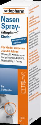 Nasenspray Ratiopharm Kinder Kons.frei (PZN 00999854)