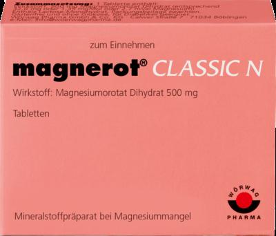 Magnerot Classic N Tabletten (PZN 00150768)