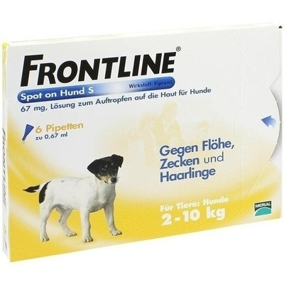 Frontline Spot on H10 Lösung f. Hunde 2-10kg (PZN 02246389)