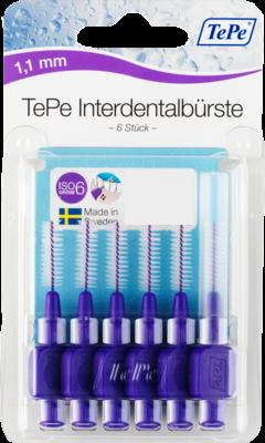 Tepe Interdentalbuerste 1,1mm Lila (PZN 07641392)