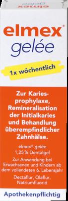Elmex Gelee (PZN 03120822)