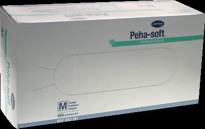 Peha Soft Latex Einweg Untersuchungshandschuhe Puderfrei Medium (PZN 07126885)