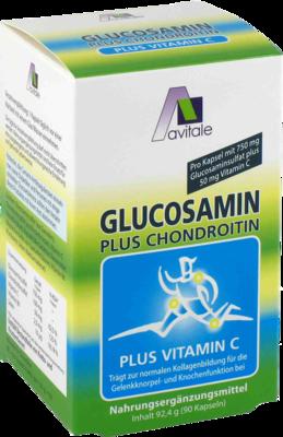 Glucosamin 750 Mg + Chondroitin 100 Mg (PZN 02888076)