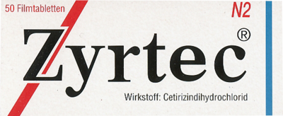 Zyrtec (PZN 04394332)