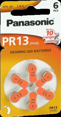 Batterien F.hoergeraete Panasonic Pr 13 (PZN 07193864)
