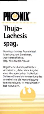 Phoenix Thuja Lachesis Spag. (PZN 04223895)