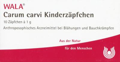 Carum Carvi Kinderzaepfchen (PZN 01448004)