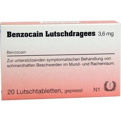 Benzocain Lutsch (PZN 06416799)