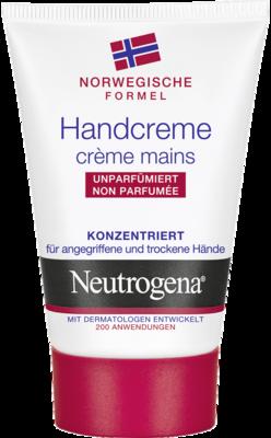 Neutrogena norweg.Formel Handcreme unparfümiert (PZN 02582578)