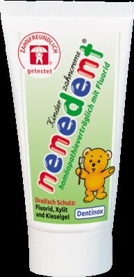Nenedent Kinderzahncreme Homoeop.vertr.m.fluor. (PZN 07275935)