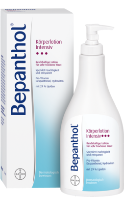 Bepanthol Intensiv Koerperlotion Spender (PZN 01627592)