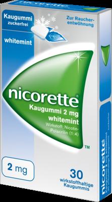 Nicorette Kaugummi 2 Mg Whitemint (PZN 07353606)