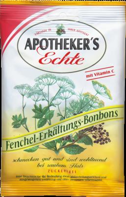 Apothekers Echte Fenchel Erkaeltungsbonbons Zf. (PZN 08511970)