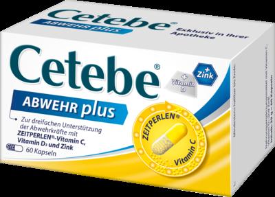 Cetebe Abwehr plus Vitamin C+Vitamin D3+Zink 60 (PZN 02411150)