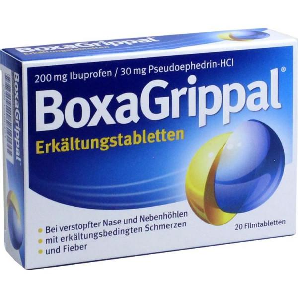 BoxaGrippal Erkältungstabletten 200mg/30mg (PZN 12460451)
