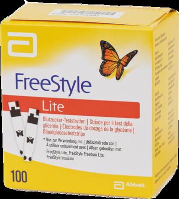 Freestyle Lite Teststreifen Ohne Codieren (PZN 00436080)