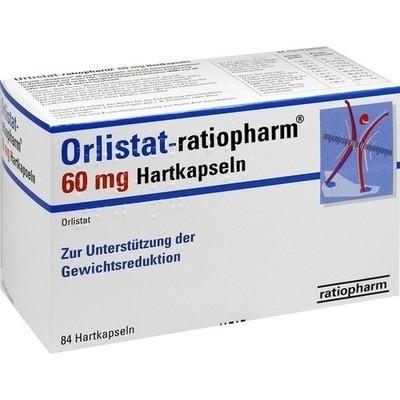 Orlistat Ratiopharm 60 Mg Hart (PZN 08845406)
