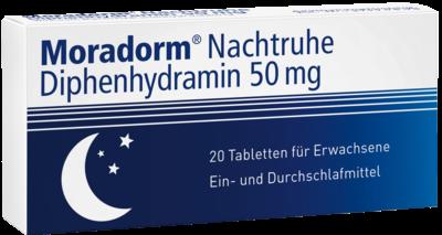 Moradorm Nachtruhe Diphenhydramin 50mg (PZN 10946126)
