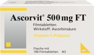 Ascorvit 500 Mg Ft (PZN 06681308)