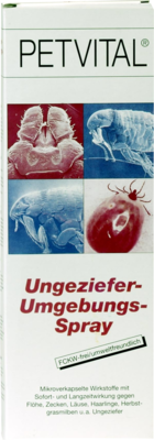 Petvital Ungeziefer Umgebungs (PZN 07221655)