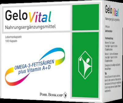 Gelovital Nahrungsergänzungsmittel Lebertran  100 Stück (PZN 10320852)