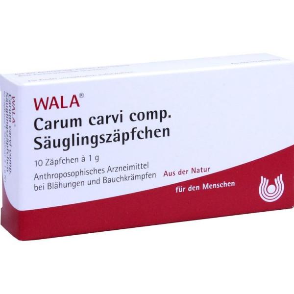 Carum carvi comp. Säuglingszäpfchen (PZN 12544248)