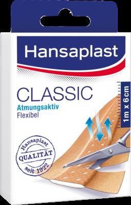 Hansaplast Classic Pflaster 1mx6cm 1145 (PZN 07347221)