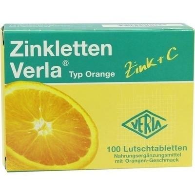 Zinkletten Verla Orange (PZN 09704820)