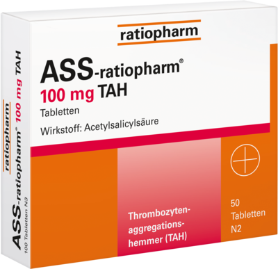Ass ratiopharm 100 mg TAH (PZN 01343676)