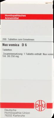 Nux Vomica D 6 (PZN 02634387)