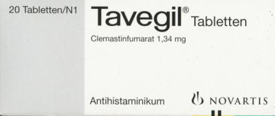 Tavegil (PZN 01006571)
